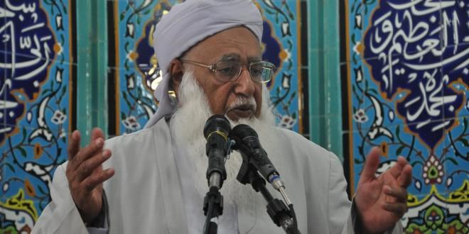 مولانا گرگیج از عموم مردم خواستند تا از خانواده معلم فداکار حمایت کنند
