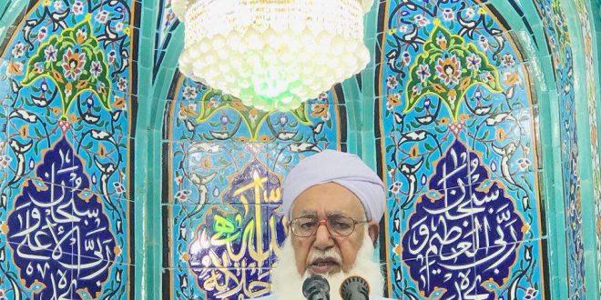 مولانا گرگیج خواستار بازگشایی مرزها جهت امرار معاش مردم شدند