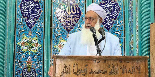 انتقاد شدید مولانا گرگیج از توزیع سلاح در بلوچستان