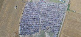 گزارش کامل تصویری از  مراسم با شکوه نماز عیدفطر  اهل سنت شهرستان آزادشهر به امامت مولاناگرگیج